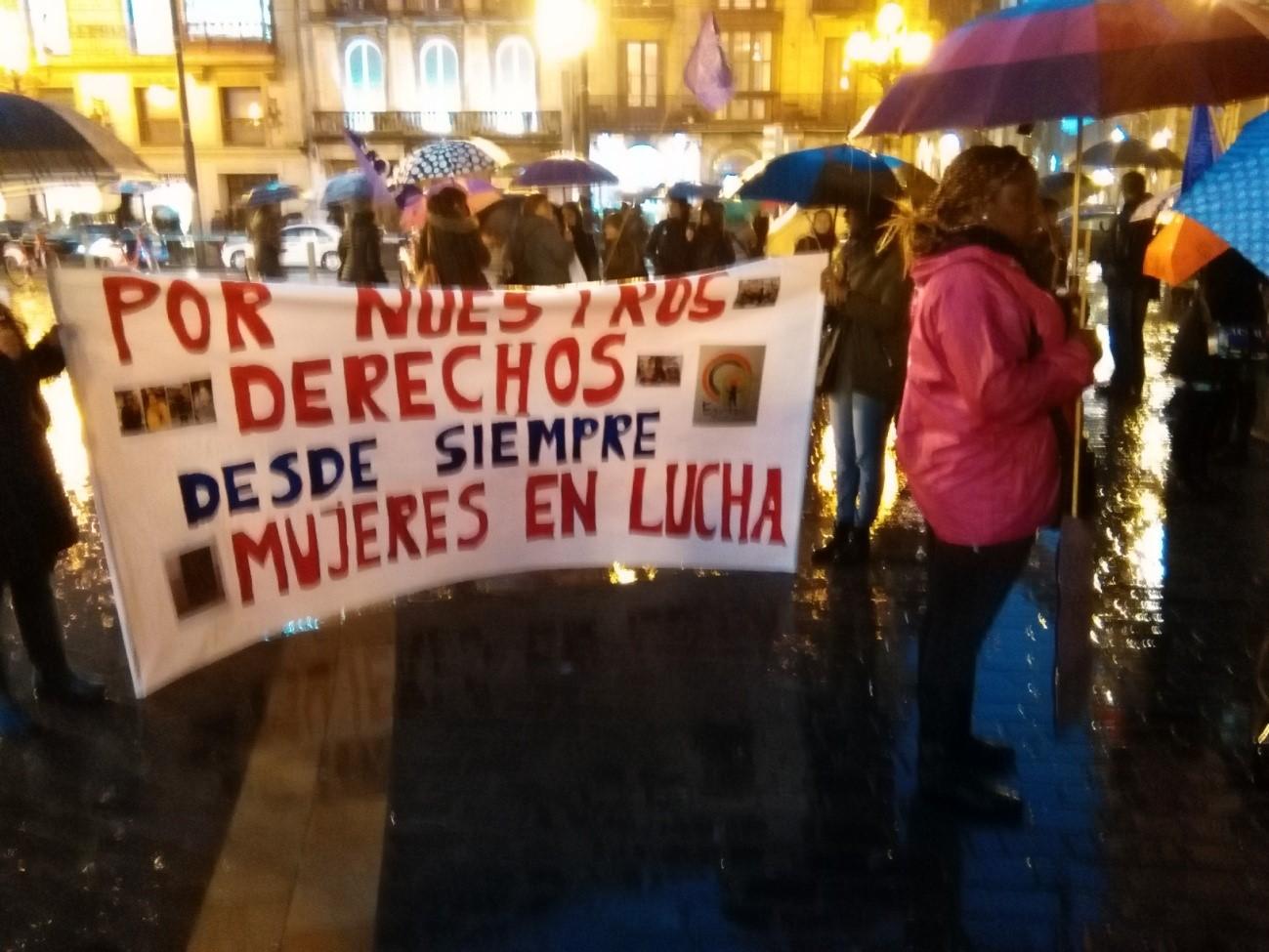 Manifestación 8 de marzo de 2016